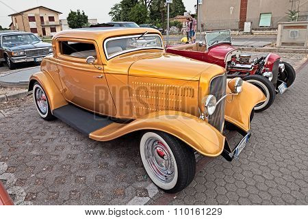 Vintage American Hot Rod Ford