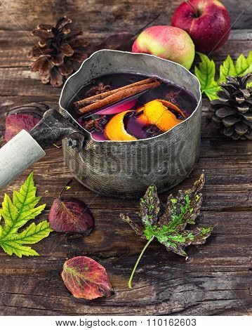 Autumn Is An Alcoholic Beverage With Wine