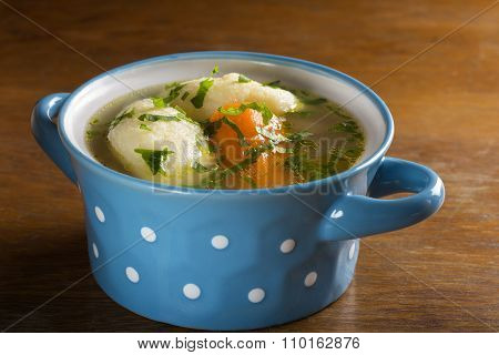 Chicken Soup With Dumplings