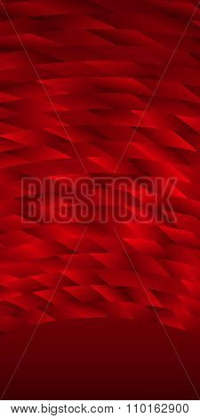Dark Red Light Texture Vertical Banner Template