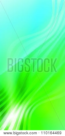 Elegant Background Blue Green Wave Line Light