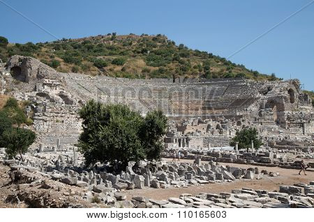 Grand Theater Of Ephesus Ancient City