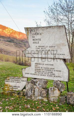 Parco Storico Di Monte Sole - Bologna