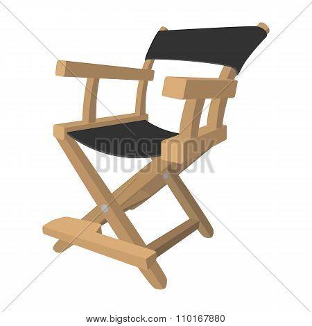 Director chair cartoon icon
