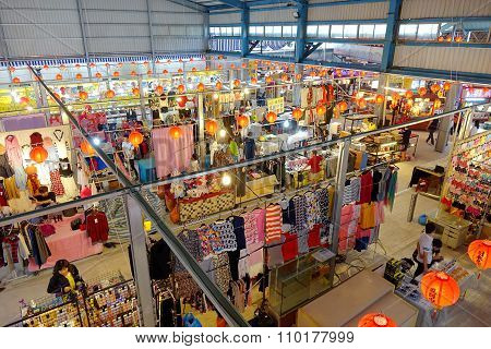 Vendors Sell Clothes And Fashion Accessories