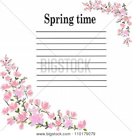spring pink cherry lyrics