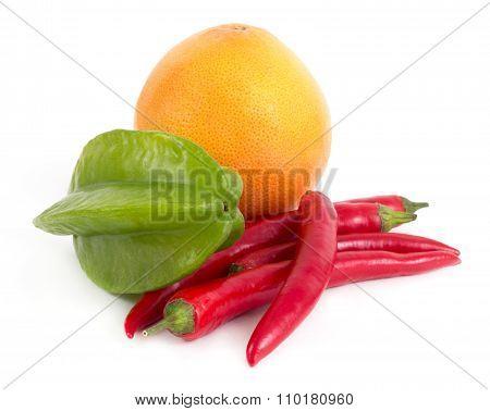 Starfruit Grapefruit And Cayenne