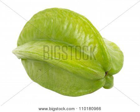 Green Unripe Starfruit