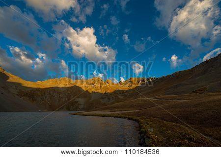 Clear Lake Near Silverton San Juan Mountains
