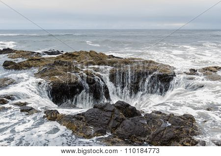 Thor's Well, Oregon Coast