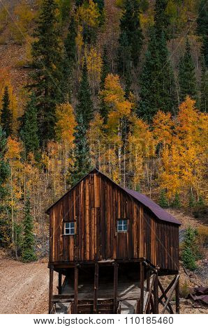 Red Mountain Mining District, Between Ouray And Silverton, Co, Usa