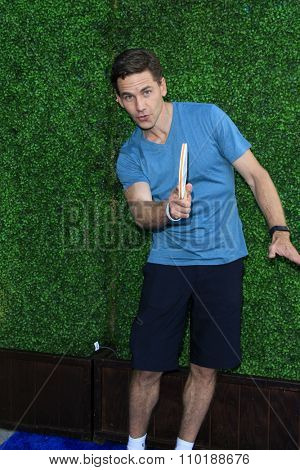 LOS ANGELES - JUL 30:  Brian Dietzen at the Clayton Kershaw's 3rd Annual Ping Pong 4 Purpose at the Dodger Stadium on July 30, 2015in Los Angeles, CA
