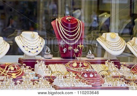 Various Gold And Silver Jewelry