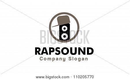 Rap Sound Creative And Symbolic Design Illustration