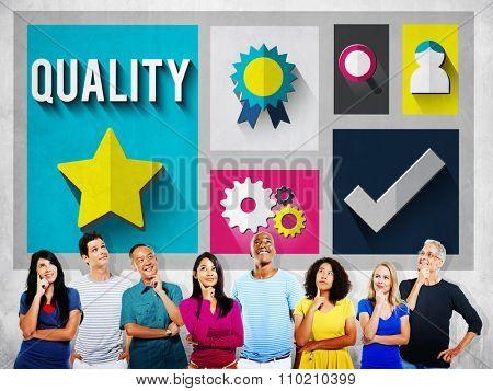 Quality Level Condition Grade Satisfaction Status Concept