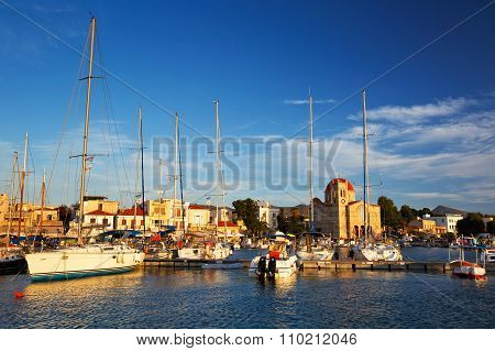 Aegina island.