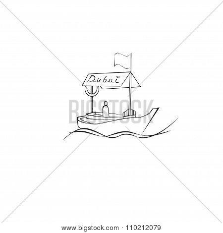Dubai Creek Boat