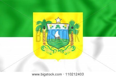 Flag Of Rio Grande Do Norte, Brazil.
