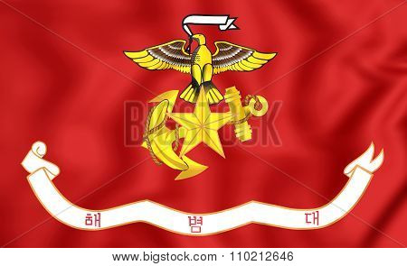 Republic Of Korea Marine Corps Flag