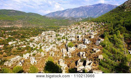 The Ghost Town Kayakoy, Turkey