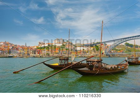 View Of Porto And Boats