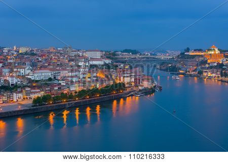 Porto At A Spring Night