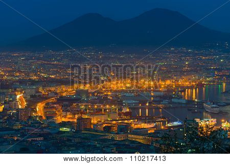 Naples In A Summer Night