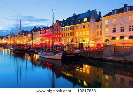 Copenhagen At A Summer Night