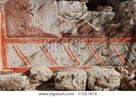 Chapel fresco, Halki island