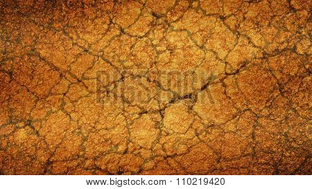 Yellow Old cracked grunge background texture