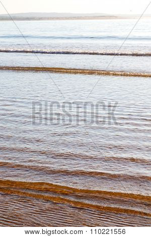 Abstract In  Ocean Wave And Lanscape