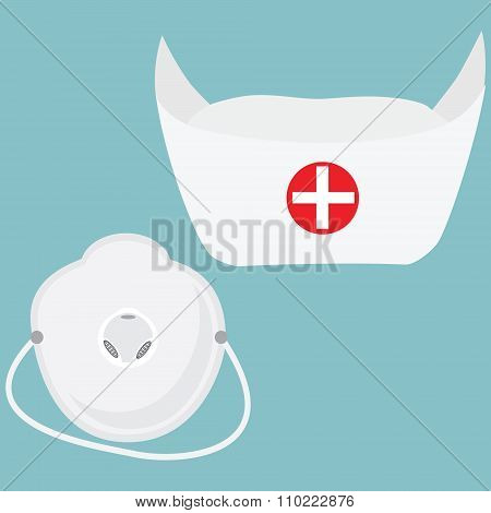 Respirator And Hat