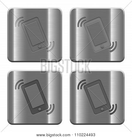 Metal Ringing Phone Buttons