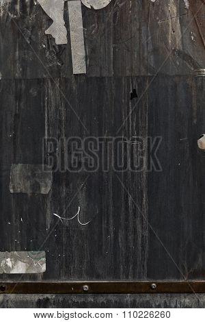 Dark Grunge Metal Background