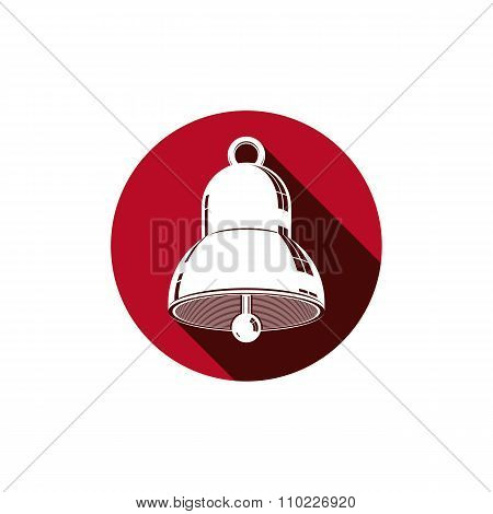 Time Is Running Out Theme Symbol. Alarm Conceptual Graphic Vector Icon, For Use In Design