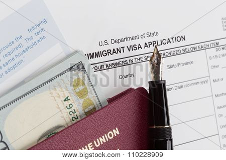 Visa Application With German Travel Passport
