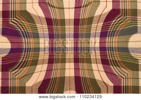fabric plaid  loincloth vintage pattern and background