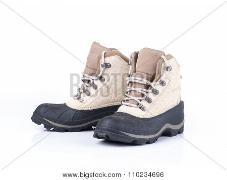 Pair Of Weather Proof Snow Boots