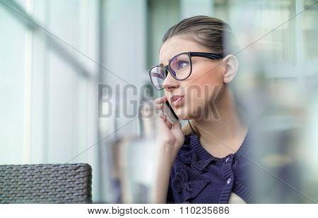 Annoyed Girl On Phone