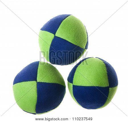 Three juggling balls