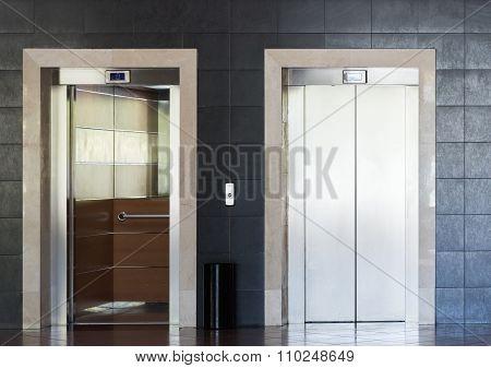 Elevator Cabin Stainless Steel