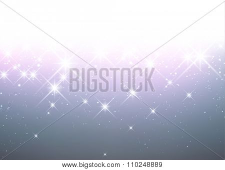 Luminous background. Vector paper illustration.