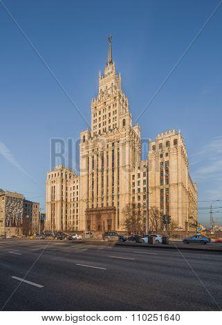 Stalinist Skyscraper At Red Gate.