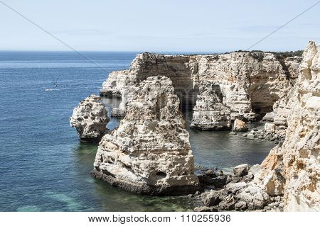 Dona Ana Beach In The Algarve
