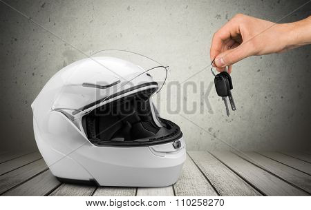 Helmet.