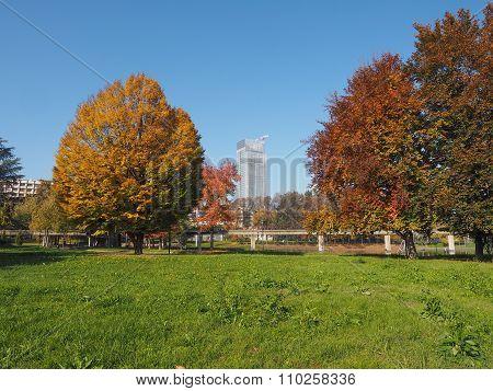 Giardino Corpo Italiano Di Liberazione Park In Turin, Italy