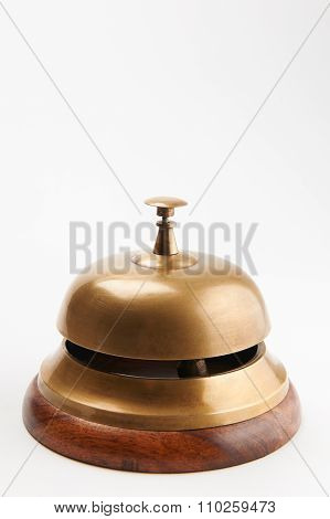 Sevice Bell On White Background