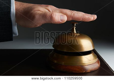 Business Ringing Service Bell On