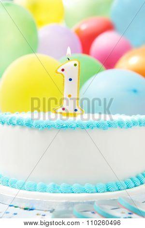 Cake Celebrating 1St Birthday