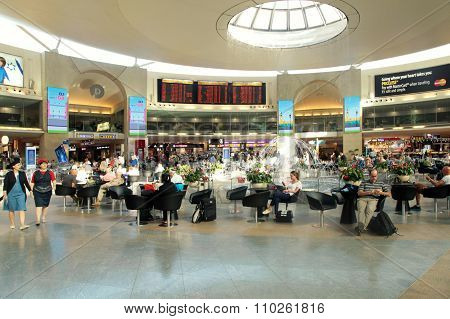 Ben Gurion International Airport In Tel Aviv, Israel